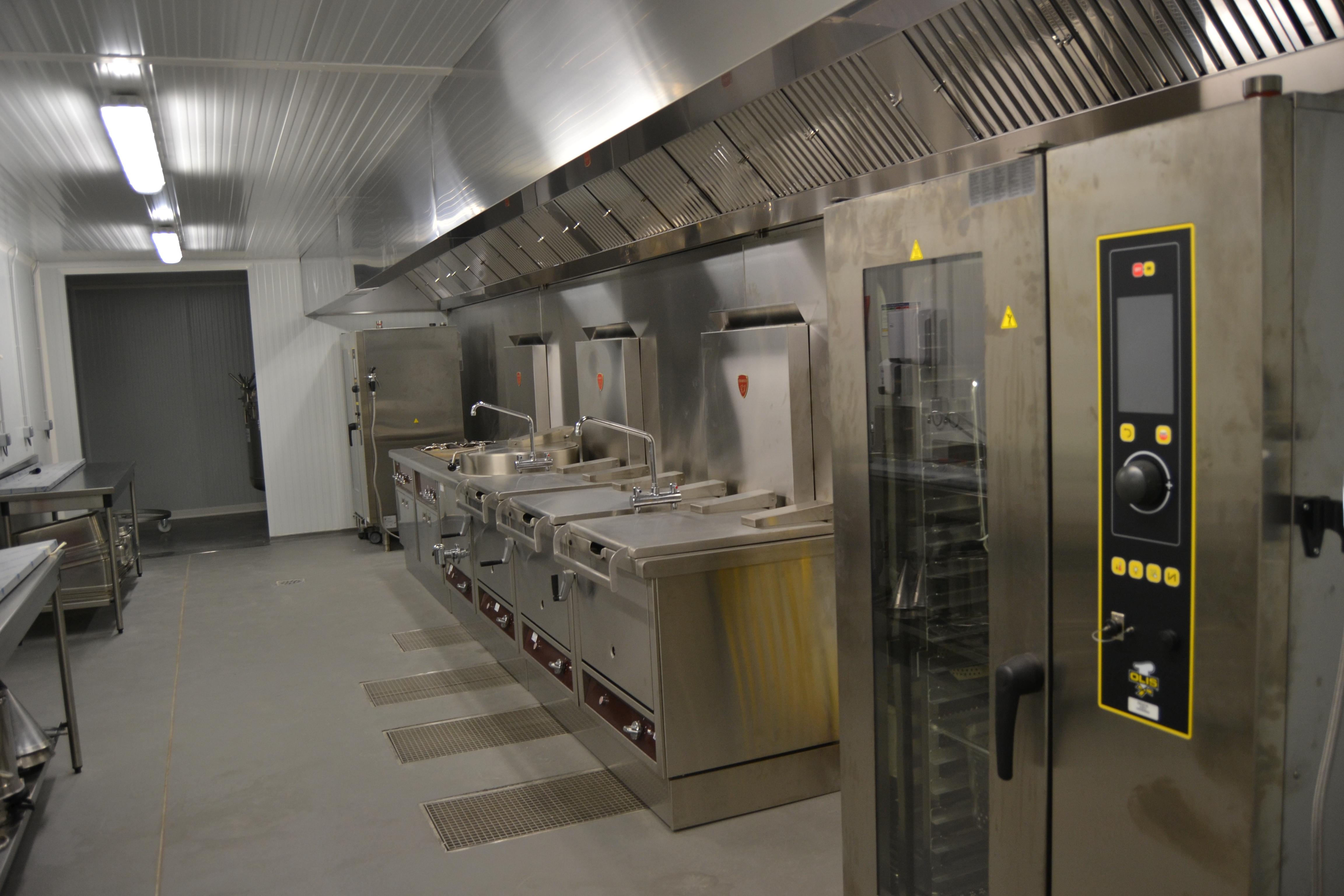 Cuisine pro pour un atelier traiteur nergies for Four traiteur professionnel