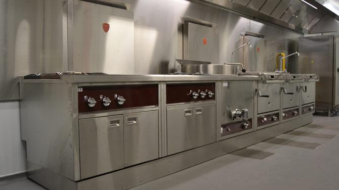 Réalisation de cuisines pro